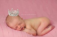 BOY Girl Viola Re Regina Diamante Tiara, Baby servizio fotografico regalo di compleanno
