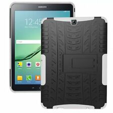 Rugged Shockproof Hard Tire Tread Rubber Case Cover Stand for Samsung Tablet