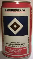 Orig.Coca Cola Sammeldose    HAMBURGER SV  -  Sonderedition Saison 1994/95  !!