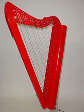 Rees Harps Sharpsicle 26-String Harp - Red