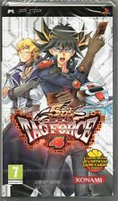 YU-GI-OH! 5D'S: TAG FORCE 4: PSP JUEGO (5ds yugioh tagforce) ~ NEW / SEALED
