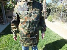German Flecktarn Military parka MINT UNISSUED GR15 XL 185-195-110