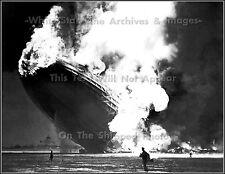 Photo: Burning Hindenburg On Ground, Lakehurst, New Jersey, 1937