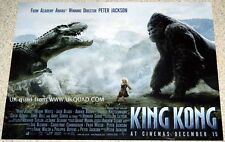 KING KONG  POSTER ORIGINAL STUDIO ISSUED 2000 UK  MINI QUAD MINT