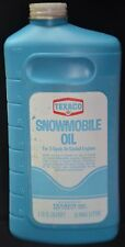 VINTAGE Snowmobile Oil TEXACO 2-Cycle One Quart UNOPENED