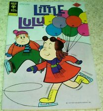 Little Lulu 237, (VF- 7.5) 1977 Ice Skating/Baloons cover! 50% off Guide!