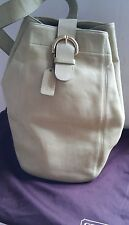 COACH SLING HANDBAG/SHOULDER BAG MINT GREEN LEATHER #4160