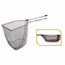 Savage Gear Folding Rubber Mesh XL Landing Net Telescopic Handle!