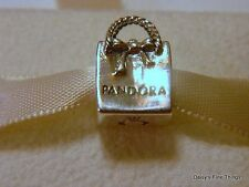 NEW! AUTHENTIC PANDORA CHARM SHOPPING BAG #791184  *CLOSEOUT*