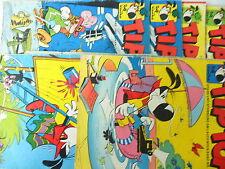 8x Comic - TipTop - Sammlung - Rolf Kauka