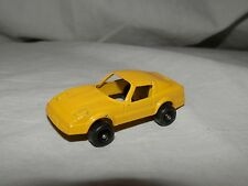 "Tootsie Toy Yellow Sports Car - 1.75"" long"