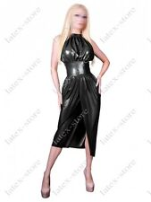 507 Latex Rubber Gummi evening Dress Skirts customized sexy 0.4mm party catsuit