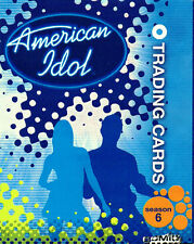 American Idol Season Six Trading Card Set