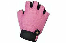 RALEIGH RSP LADIES TRACK MITT PINK WOMENS/GIRLS LARGE CYCLE GLOVES T09LGEJ
