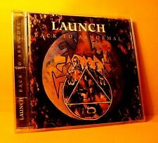 CD Launch Back To Abnormal 12 TR 1995 Melodic Hard Rock MEGA RARE !