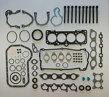 FULL HEAD SUMP GASKET SET BOLTS GOLF GTi CORRADO PASSAT AUDI 80 COUPE 2.0 16V