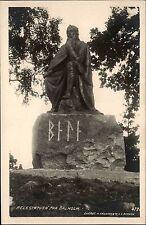 Balholm Sognefjord Sogn Norwegen Norge 1926 Statue Denkmal Belestatuen Statuen
