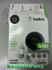 Genuin Belkin F4U037 AirCast Car Audio Bluetooth AUX Music HandsFree Kit