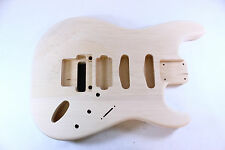 Unfinished Basswood Strat Stratocaster guitar body - GFR -fits fender necks AJ05