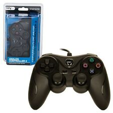 New Black Game Controller For Sony Playstation 2 PS2