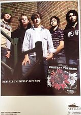 Protest The Hero /Senses Fail - Rare Original Promo Mini Poster 12 x 16.5 Inches