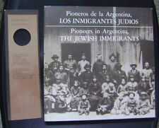 Book Pioneers In Argentina Jewish Inmigrants 1982 Full Of Images