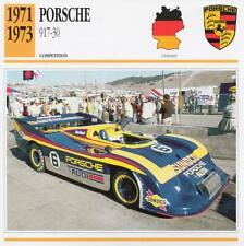 1971-1973 PORSCHE 917-30 Racing Classic Car Photo/Info Maxi Card