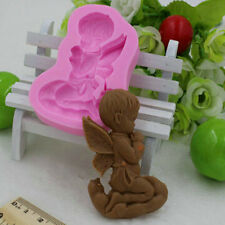 Angel Silicone Mold for Fimo Resin Polymer Clay Fondant Cake Chocolate 2016