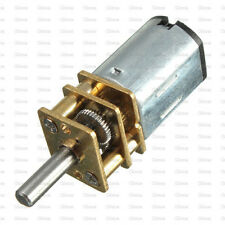 DC 6V 30RPM Micro Speed Reduction Gear Motor with Metal Gearbox Wheel N20