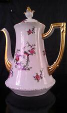 Très grande théière porcelaine de Limoges Leonard Chambon 1900/1920 décor Japon