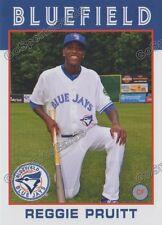 2016 Bluefield Blue Jays Reggie Pruitt RC Rookie Toronto