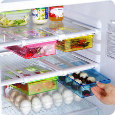 Multifuction Plastic Kitchen Refrigerator Storage Rack Home Fridge Shelf tray