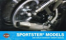 2006 Harley Sportster 883 1200 XL883 XL1200 Owner's Owners Owner Manual 99468-06