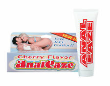 ANAL EAZE 4 OZ Eaze into comfort with this cherry-flavored formula for anal