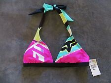 FOX Racing Women's Divizion Bikini Top Brand NEW w/tags, Size Medium