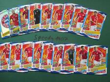 Topps Champions League 2016 17 all 18 Bayern München Cards Logo Goal King