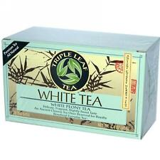 Triple Leaf Tea, White Tea, 20 tea bags