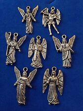 Lot 7 Archangel St Medals Michael Uriel Gabriel Raphael Samuel Metal Saint