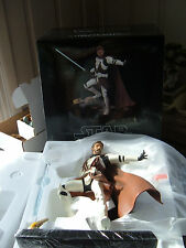 "GENTLE GIANT / STAR WARS ""OBI-WAN KENOBI in CLONE TROOPER ARMOR"" STATUE!! MIB!!"