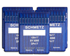50 SCHMETZ 135X17 #21 SEWING MACHINE NEEDLES fits SAILRITE BIG-N-TALL
