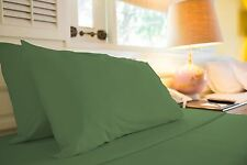 1500 TC LUXURIOUS EGYPTIAN COTTON QUALITY SHEET SET QUEEN SIZE GREEN SAGE