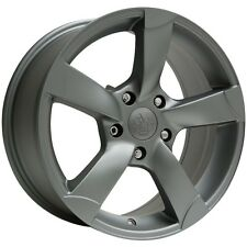 """(4) Vogue VT378 18"""" Matte Graphite (5x115) Wheels - Clearance Sale!"""
