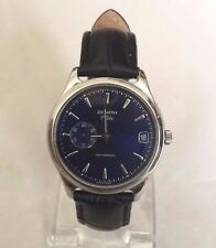 Zenith Elite Blue Dial Automatic ultra-thin SS Watch (Ref: 90/02 0040 680)