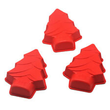 Christmas Tree Shape Silicone Cake Mold  Chocolate Candy Mould  Baking Tools