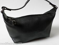 Coach Hampton Top Handle Pouch Small Bag Black Leather 40572
