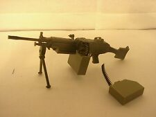 toy machine gun GI Joe ES Toys Soldiers of the World Ultimate Soldier 1/6 12""