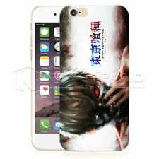 Bloody Pattern Tokyo Ghoul Hard Black/Clear Case Cover For iPhone SE 6 & Samsung