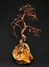 Bonsai Copper Wire Tree Art Sculpture - 2277 - READY TO BE SHIPPED