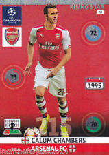 2014/15 Adrenalyn Xl Champions League Arsenal Calum cámaras Rising Star N ° 53