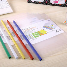 5Pc A4 Size Folder Storage Clips File Document Paper Clip Office School Supplies
